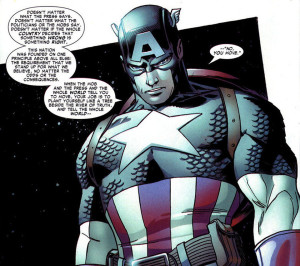 Captain America from Amazing Spider-Man #537