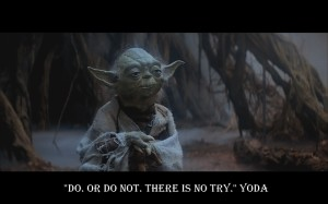 There is no try - Yoda - wallpaper